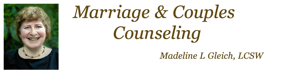 Marriage Counseling and Couples Counseling